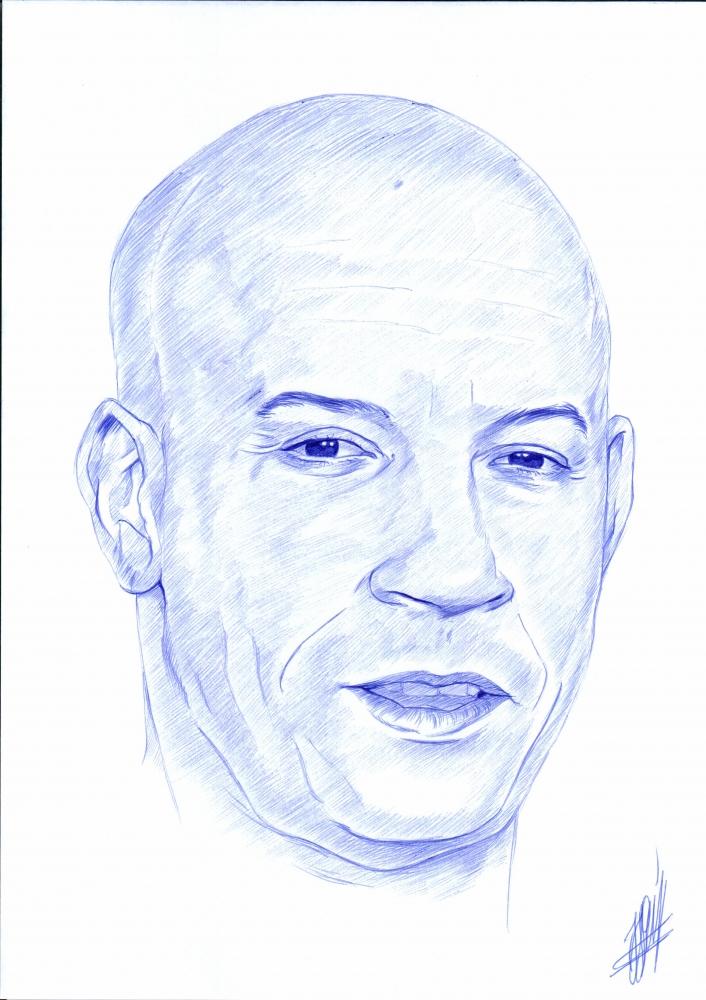 Vin Diesel por jjg2018
